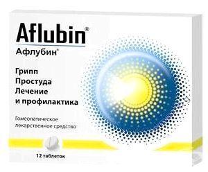 афлубін інструкція для дітей відгуки
