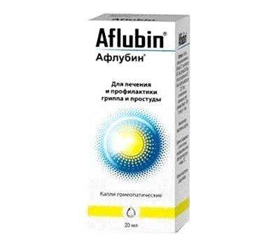 афлубін дози для дітей