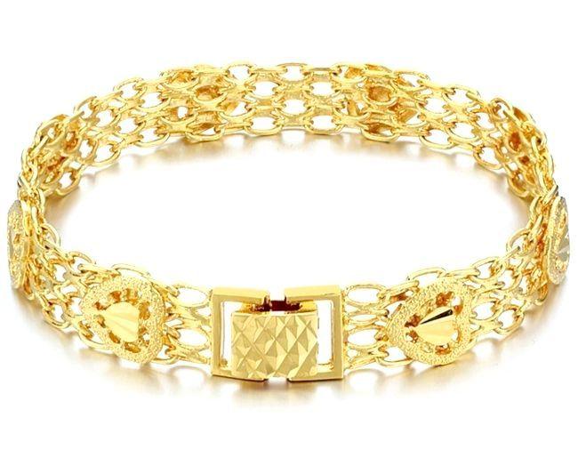 Види плетіння золотих браслетів