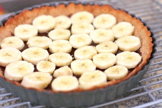 торт з бананів