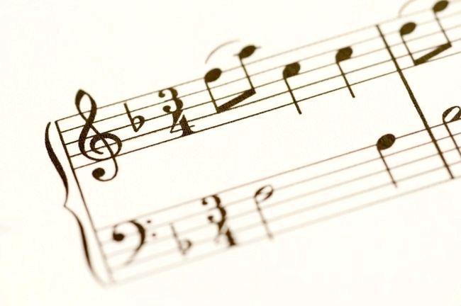 ноти басовий ключ