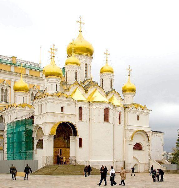 Благовіщенський собор московського кремля