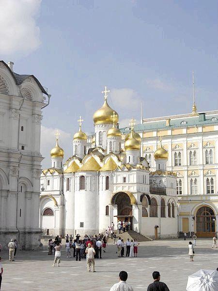 Собори кремля благовіщенський собор