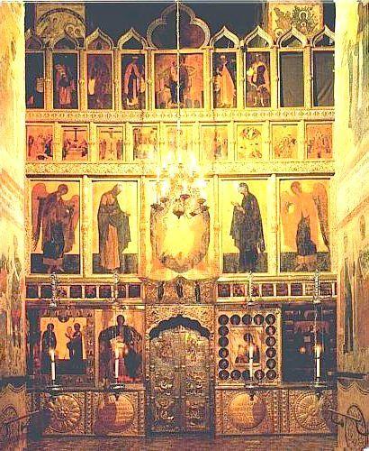 Ікони Благовіщенський собор Московського Кремля