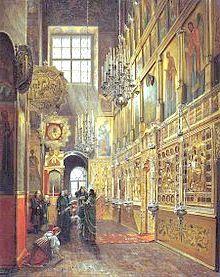 Благовіщенський собор московського кремля історія