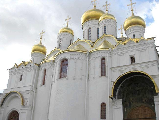 Благовіщенський собор московського кремля опис