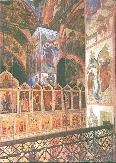 Фрески Благовіщенський собор Московського Кремля