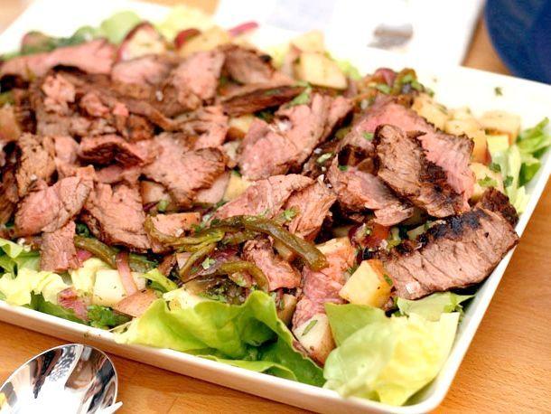 рецепт запеченої картоплі з м'ясом