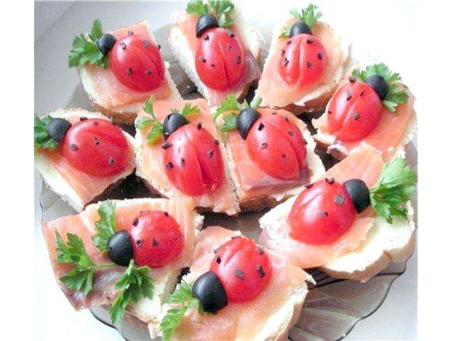 Бутерброди рецепти з червоною рибою