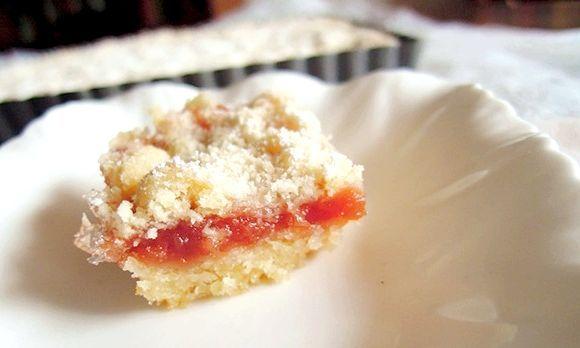 рецепт пісочного пирога з варенням