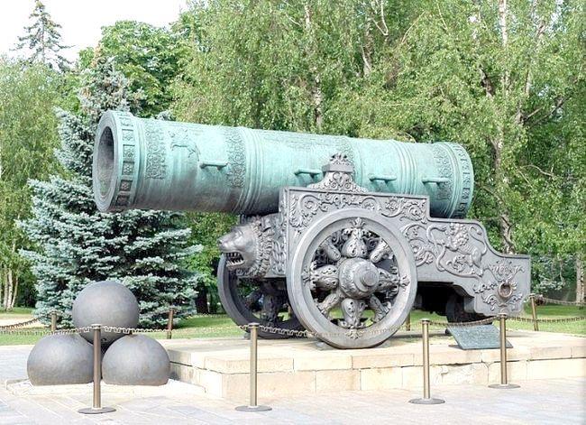 цар гармата в Москві