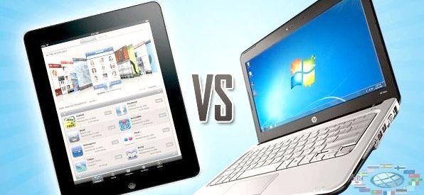 що краще планшет або ноутбук