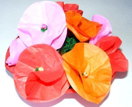 орігамі квітка з паперу