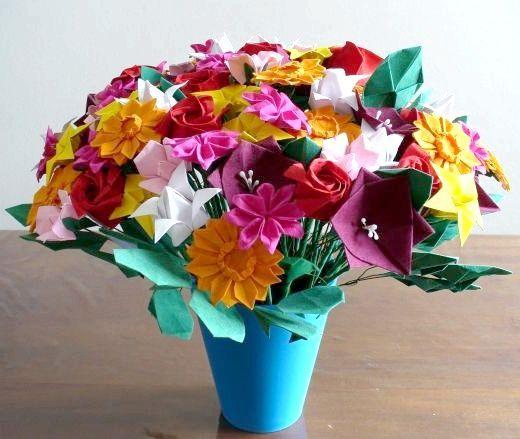 квітка з паперу