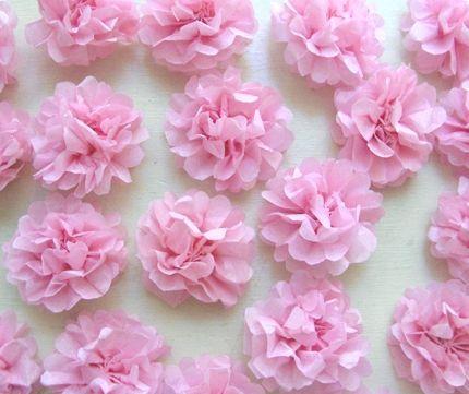 Квіти з серветок - ніжне прикраса вашого будинку