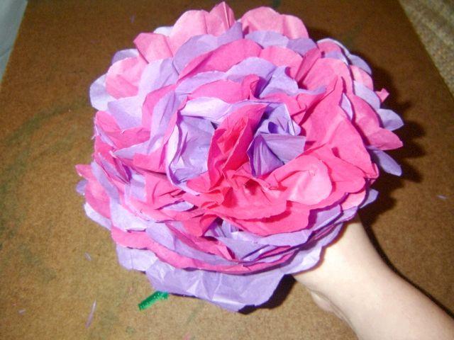 квіти з серветок своїми руками