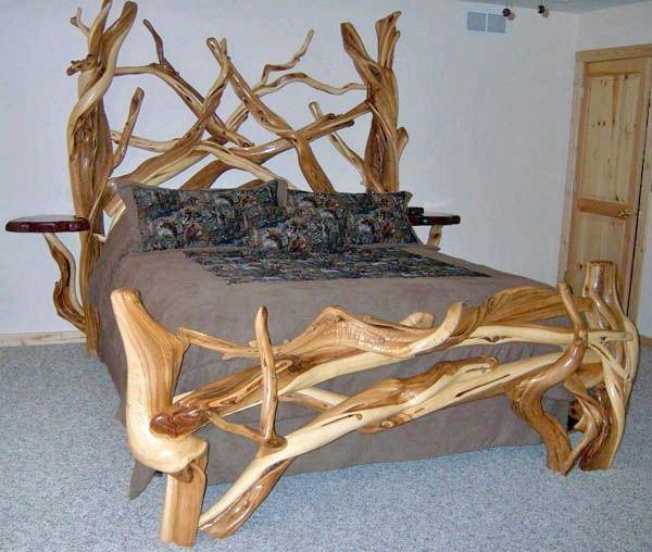дерев'яне ліжко своїми руками