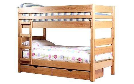 двох'ярусне ліжко