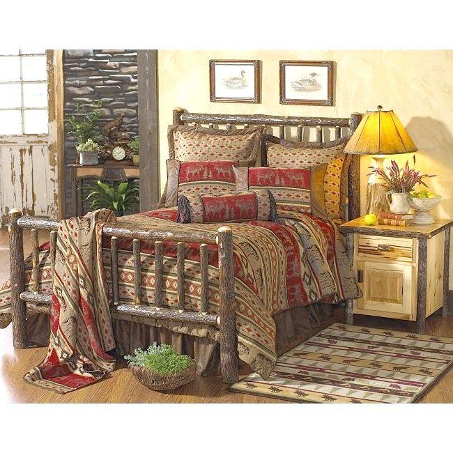 дерев'яне ліжко дизайн 2
