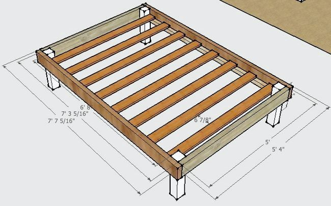 ліжко дерев'яна своїми руками фото