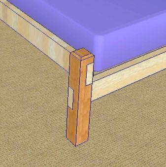 зробити дерев'яне ліжко своїми руками