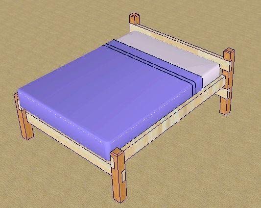 дерев'яна двоярусна ліжко своїми руками