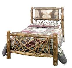 Дерев'яне ліжко дизайн свій