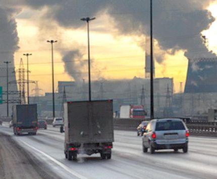 азоту діоксид в атмосферному повітрі