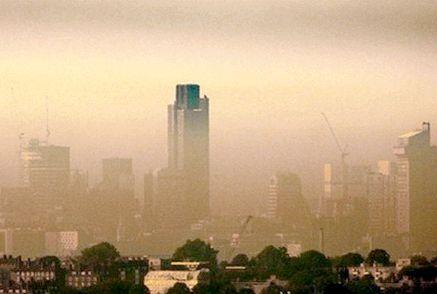 діоксид азоту в повітрі