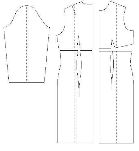 форма сукні із завищеною талією