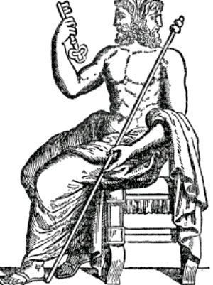 Дволикий янус - бог дверей, меж і переходів