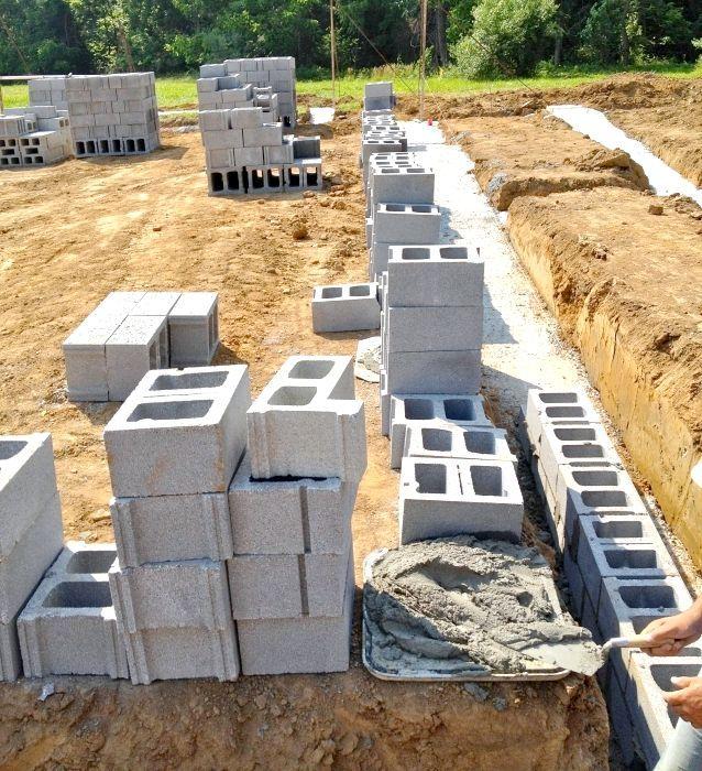 Фундамент для будинку з піноблоків: особливості