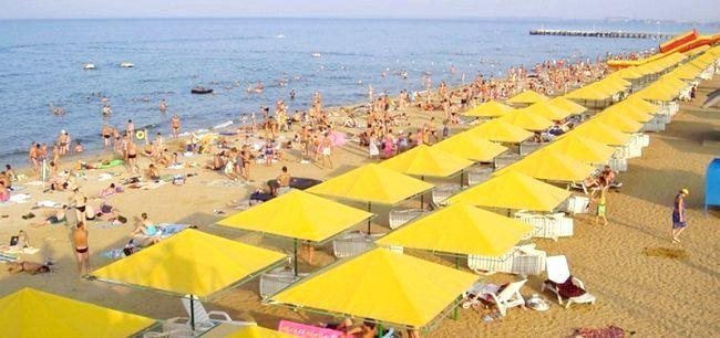 відпочинок в криму піщані пляжі