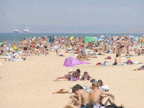 курорти криму з піщаними пляжами