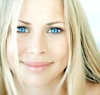Блакитні очі - небо душі
