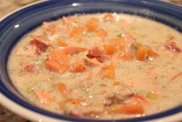 суп рибний з горбуші рецепт