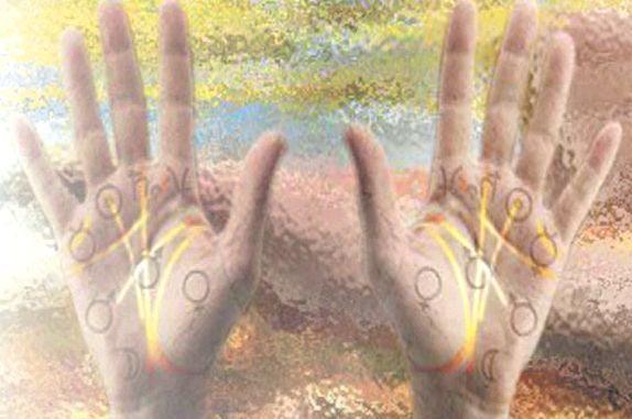 лінії на правій руці