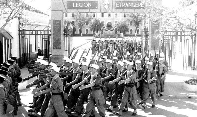 іноземний французький легіон