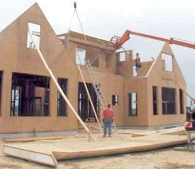 будувати будинок з сип-панелей