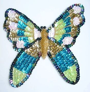 метелики з бісеру