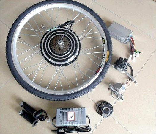 електродвигун для велосипеда