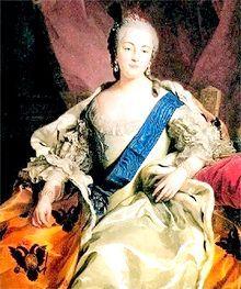 епоха палацових переворотів 1725-1762