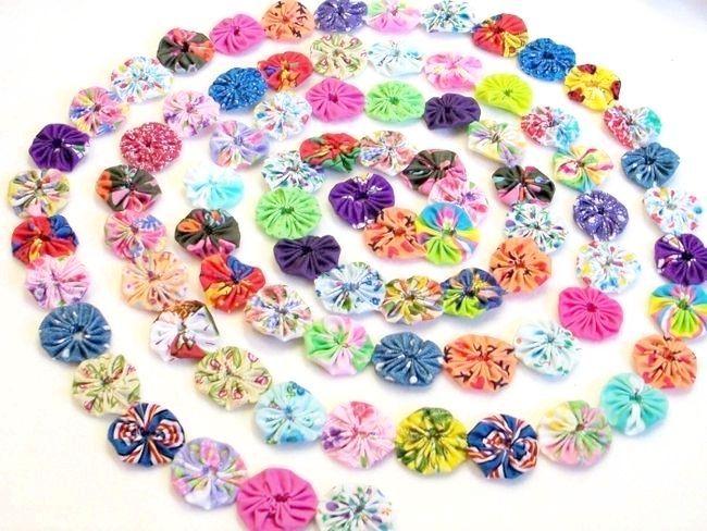 квіти своїми руками з тканини