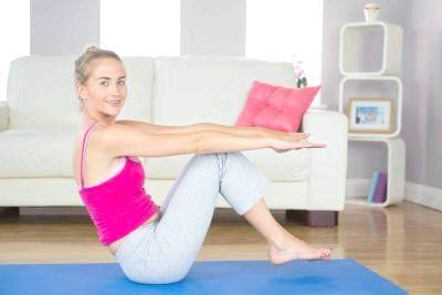 як позбутися боків і живота в домашніх умовах вправи