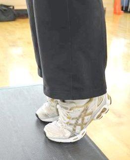 як накачати ікри на ногах