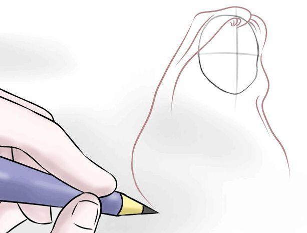 як намалювати барбі поетапно