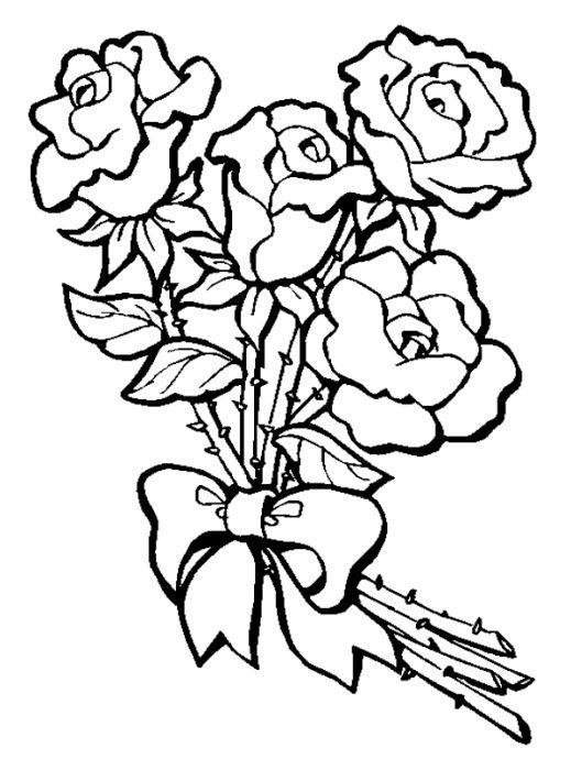 намалювати букет квітів