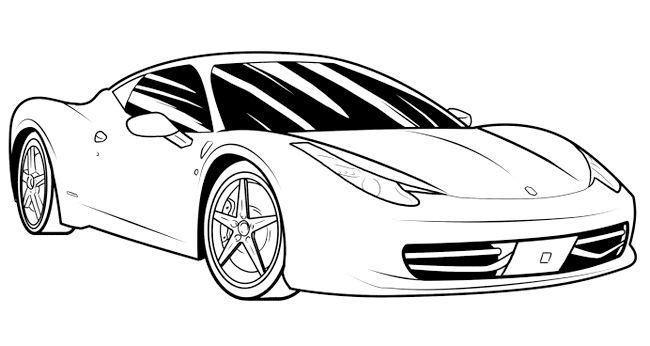 як намалювати машину ваз