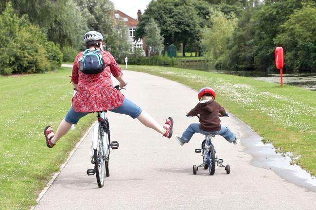 Як навчитися їздити на велосипеді