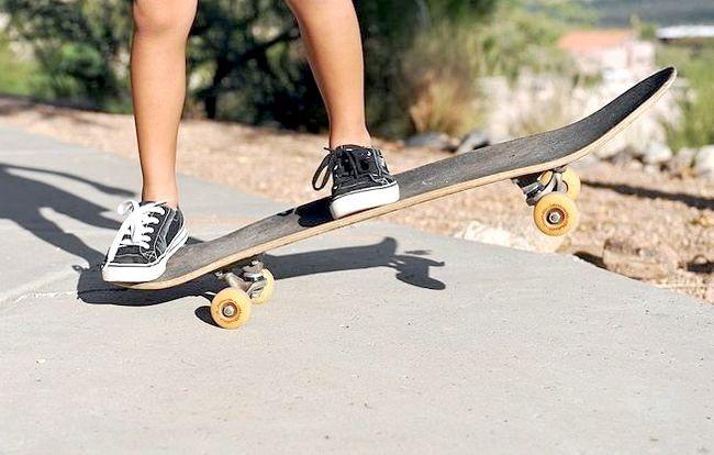 вчимося кататися на скейті